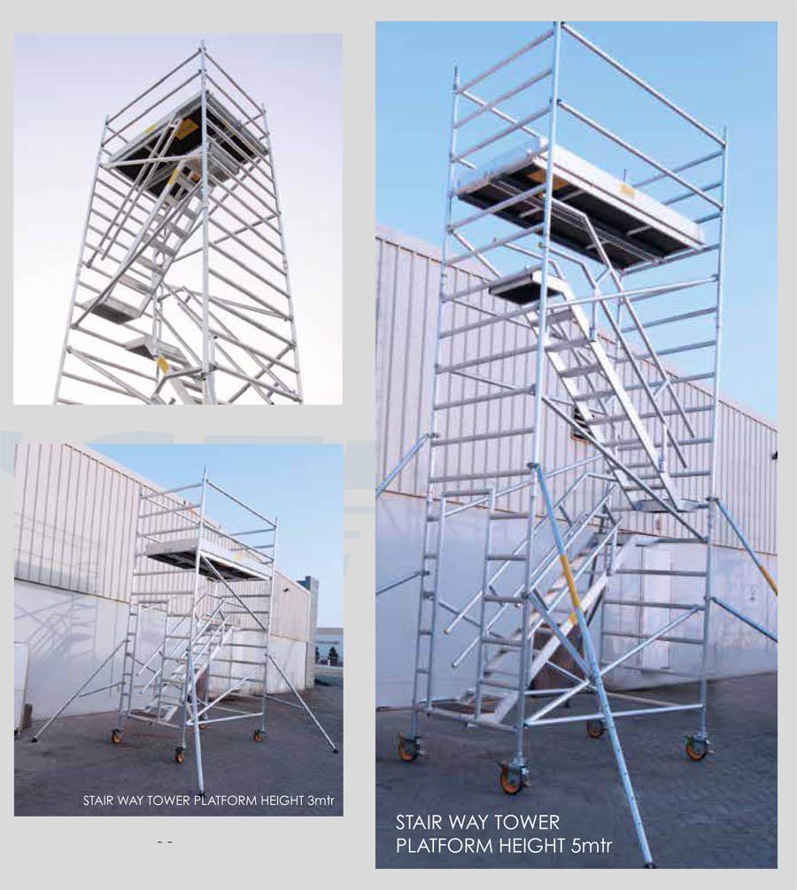 Aluminum Scaffolding Suppliers : Aluminum mobile scaffolding manufacturer dubai