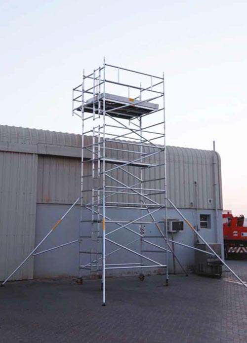 Cantilever Scaffold Manufacturer Mobile Access Tower Uae