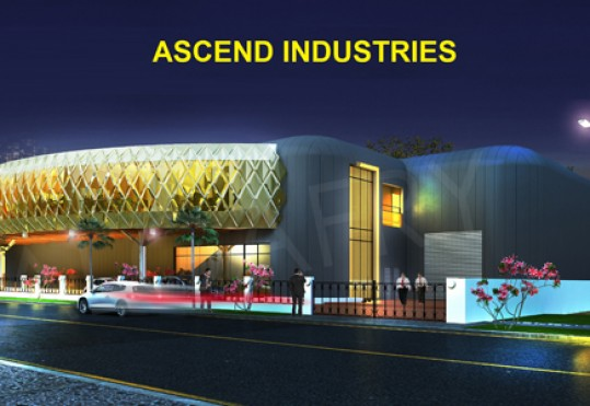 Construction for the new production and distribution facility of Ascend is underway now in Nad al Hamar area