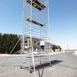 Double Width Span 28 ( 7 Rungs) Mobile Tower 28