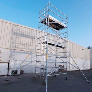 Double Width Span 50 Ladder Frame Mobile Tower